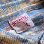 1970s JCPenney BIG MAC Heavyweight Flannel Shirt