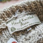 Scotland Fisherman Hand Knitted Aran Wool Sweater