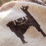 Alpaca Wool Knit Cardigan made in Peru & NEW YEAR SALE