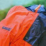 80s 90s Columbia Criterion Batting Nylon Jacket