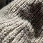 EURO Hand Knitted Half-zip Wool Sweater
