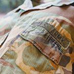 80s USARMY Woodland Camouflage Combat Jacket