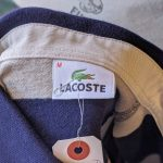 French Lacoste L/S Border Rugger Shirt
