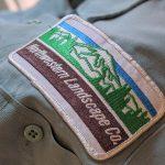 USA CiNTAS Northwestern Landscape Co. Patch L/S Work Shirt