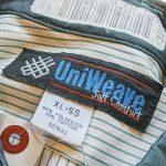 Big Size USA UniWeave Patch S/S Work Shirt & 送料無料5月30日まで!