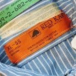 BigSize USA REDKAP S/S Stripe Work Shirt