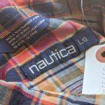 Bigsize USA nautica S/S Check Button-Down Shirt