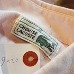 80s French Lacoste S/S Button-Down Cotton Shirt