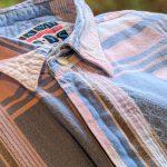 80s EURO S/S Total Pattern Cotton Shirt