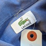 French Lacoste S/S Button-Down Cotton Shirt