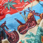USA Total Pattern S/S Poly Hawaiian Shirt