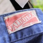 Bigsize 1970s-80s EURO VALDOTEX Cotton Work Repair Pants W39