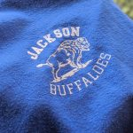 "1970s-80s USA SCREEN STARS ""JACKSON BUFFALOES"" Print T-shirt"