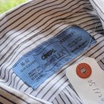 USA CiNTAS S/S Stripe Work Shirt