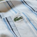 2020 Summer SALE & French Lacoste Stripe S/S Buton-down Shirt