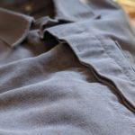 1960s-70s EURO Moleskin Work Jacket Gray color