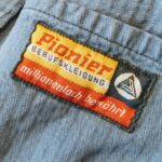 1960s-70s Germany Pionier Herringbone twill Work Jacket Mens-M