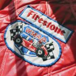 1960s-70s USA Swingster Firestone Nylon Quilting Jacket Mens-M