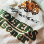 1970s-80s WOLTERS Pilsener Print Tee White Mens-XL