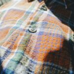 1960s-70s EURO Grand Father Shirt Brown Mens-M