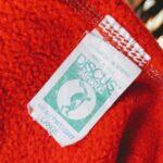 1970s-80s USA DISCUS Athletic Print SweatPants Red Mens-L
